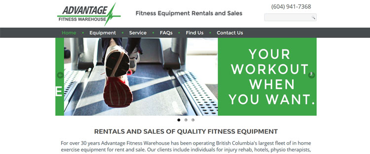 Advantage Fitness Warehouse