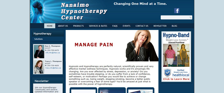Nanaimo Hypnotherapy Center